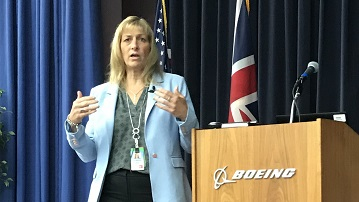 Boeing Supplier Showcase Val Bring