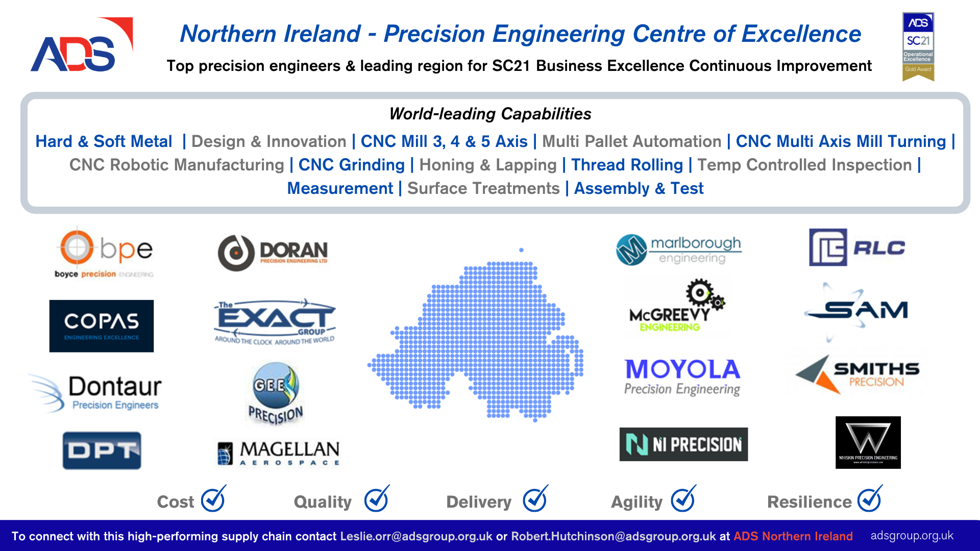ADS Northern Ireland - Precision Engineering Centre of Excellence